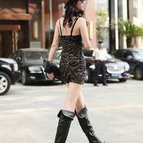 Botas Altas negro o marron / Overknee Boots black or brown LS120