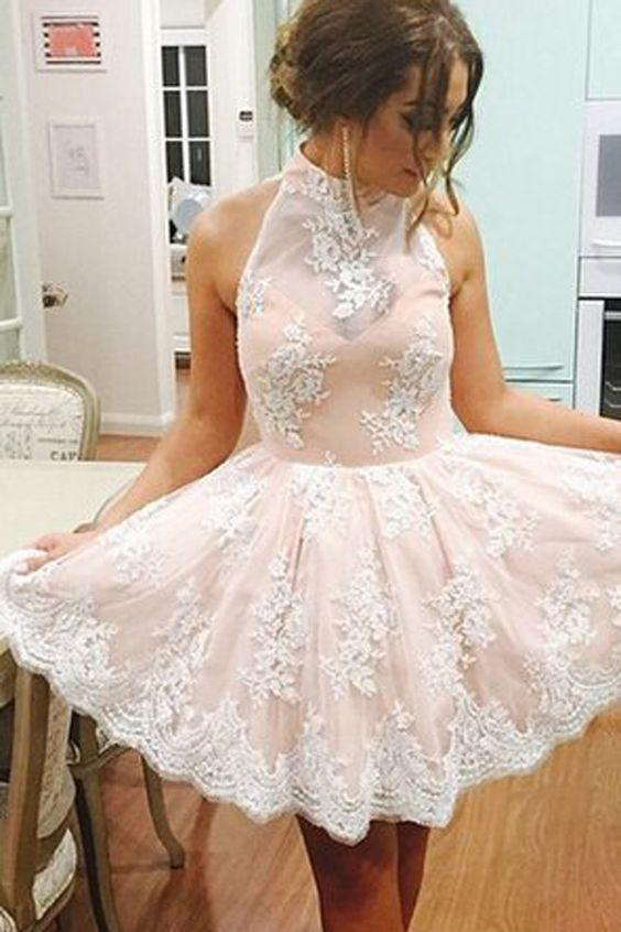 Girls Lace Prom Dresses