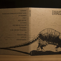 Exhausted Pipes CD + Digital Download (Armadillo)