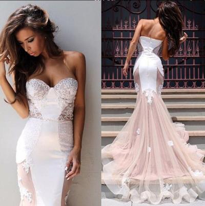Off-shoulder Prom Dress,Pink Prom Dress,Sweetheart Prom Dress ...