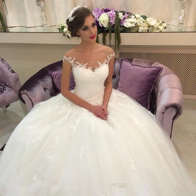 Beautiful Wedding Dress,Off-shoulder Wedding Dresses,Ball Gown ...