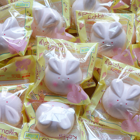 Squishy Bunny Instagram : Kiibru Bunny Marshmallow Squishy Charm SLOW RISING ? Kawaii Squishy Shop ? Online Store Powered ...