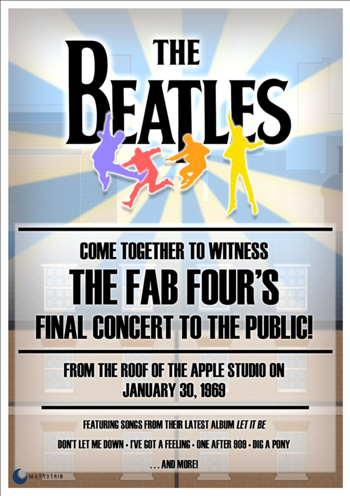 Reynolds Coliseum Music Concert Poster Print Vintage Rolling Stones
