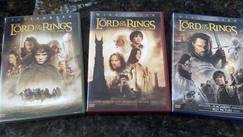 Lord Of The Rings D Dvds For Sale