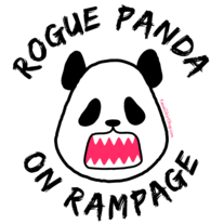 Ladies' T-Shirt - Kawaii Rogue Panda on Rampage