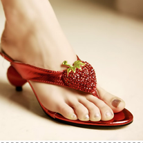 Sandalias Fresa / Strawberry Sandals LS408