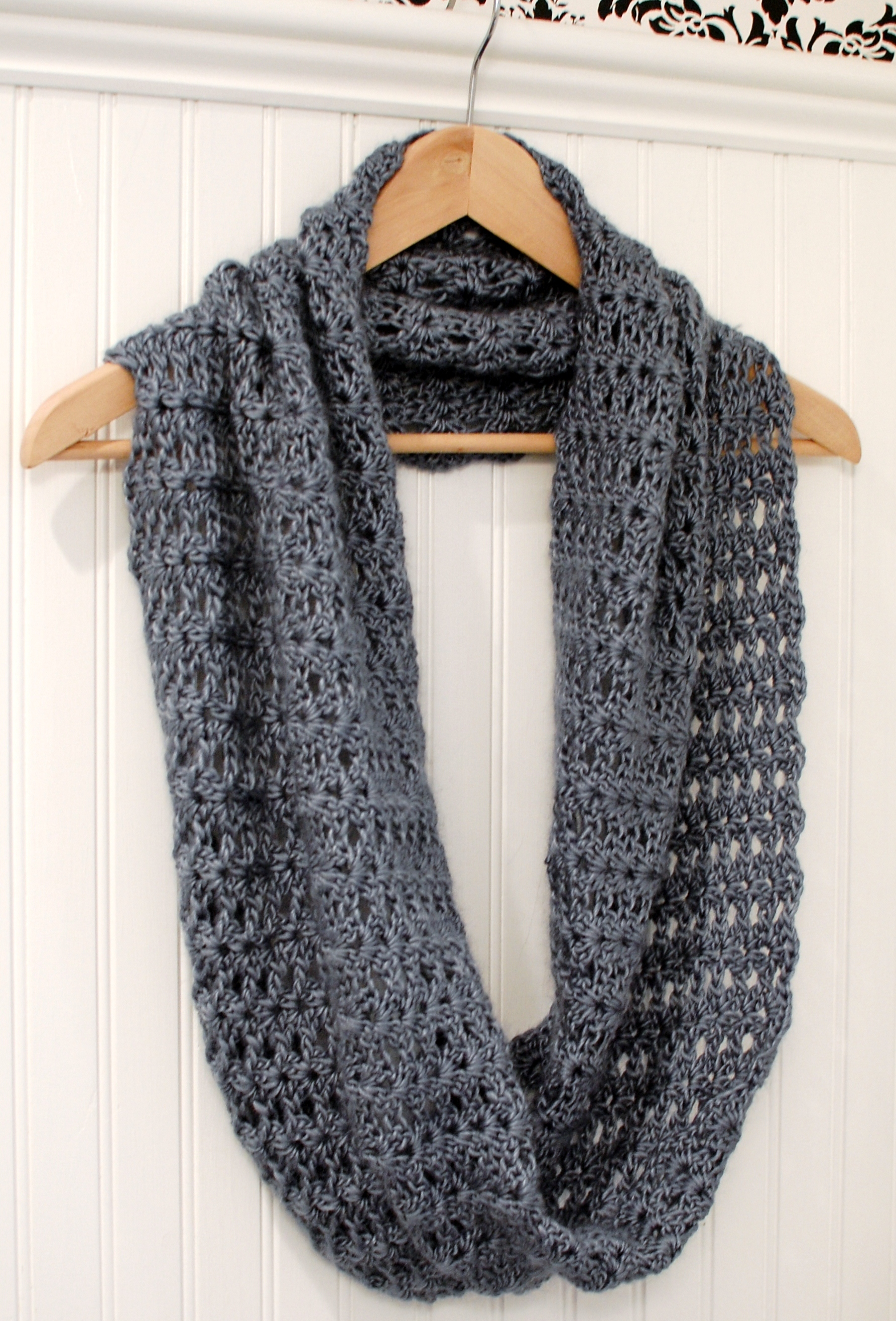 Crochet Stitches Good For Scarves : Crochet Pattern - Mobius Infinity Scarf / Wrap (includes instructions ...