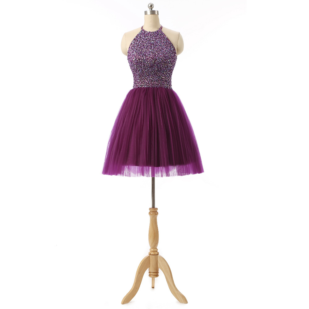 Purple and Pink Party Dresses for Teenagers