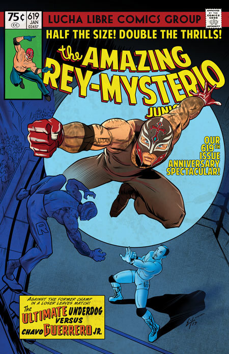Lucha Libre Comic