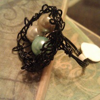 Black Birds Nest Ring
