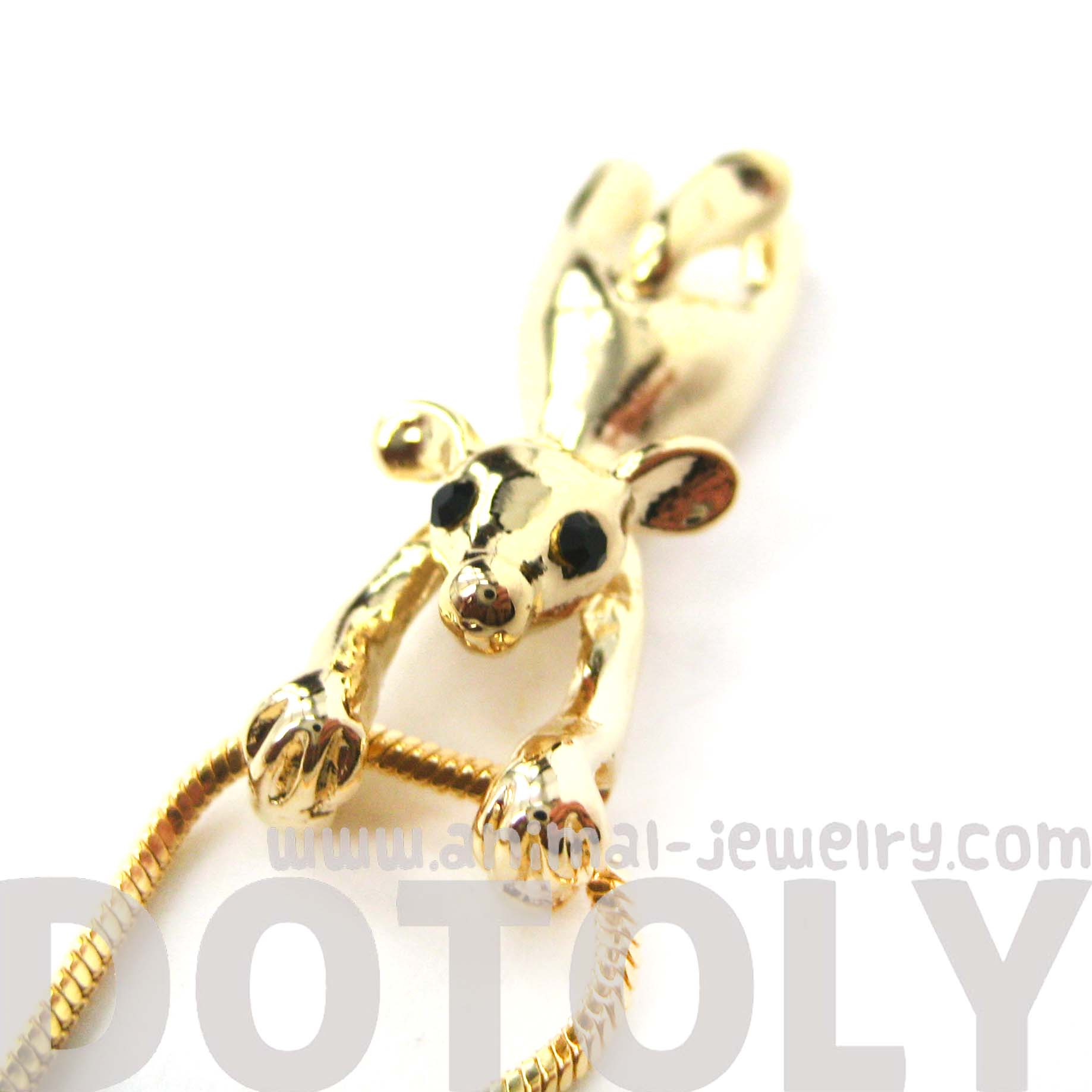 Unique mouse mice dangling animal pendant necklace in gold unique mouse mice dangling animal pendant necklace in gold thumbnail 4 mozeypictures Images