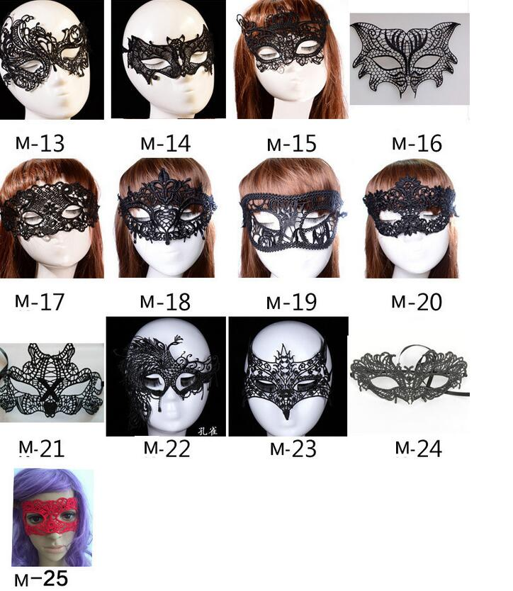 m56 halloween masquerade party lace mask yiwu half face beauty mask