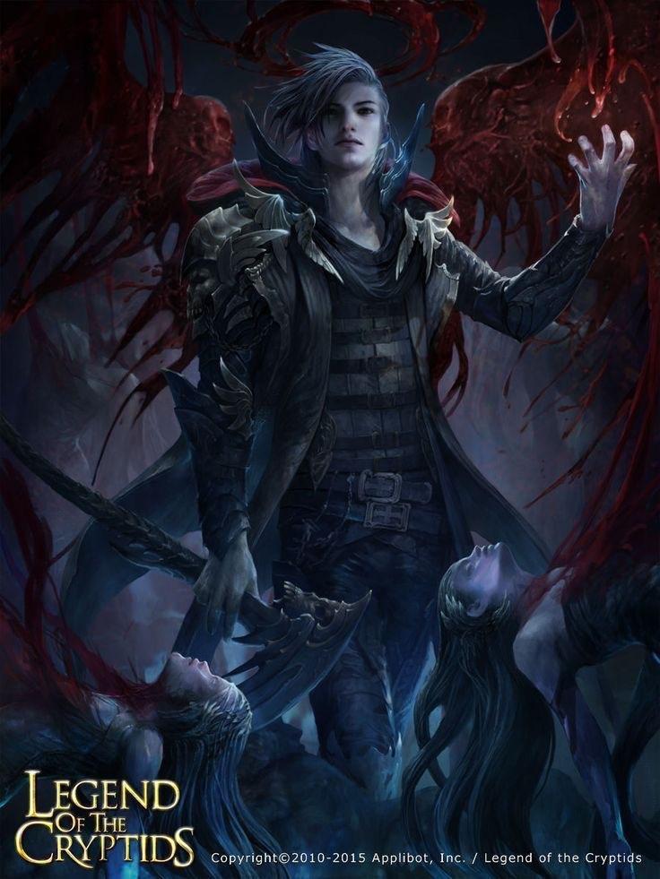 Страстный демон и вампир секс
