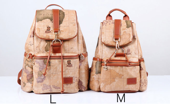 Vintage Leisure World Map Backpacks for girl · needit · Online