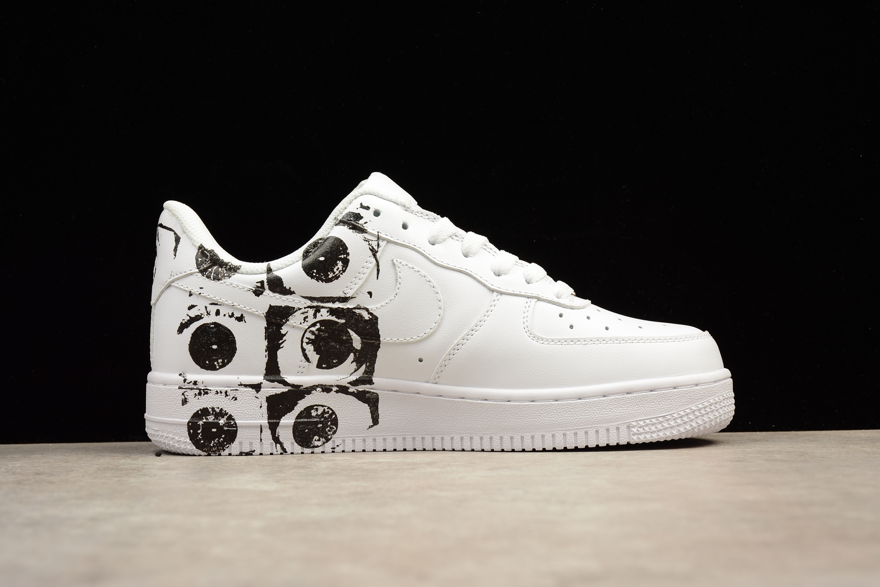 5b8cdb7b406c ... SUPREME X CDG NIKE AIR FORCE 1 AF1 Low White Casual Shoes - Thumbnail 4