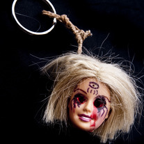 Doll Head Keychain