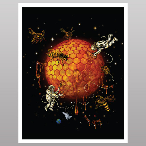 Honey Moon (print)