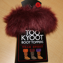 TEAM SPIRIT Boot Topper - Aggie Maroon