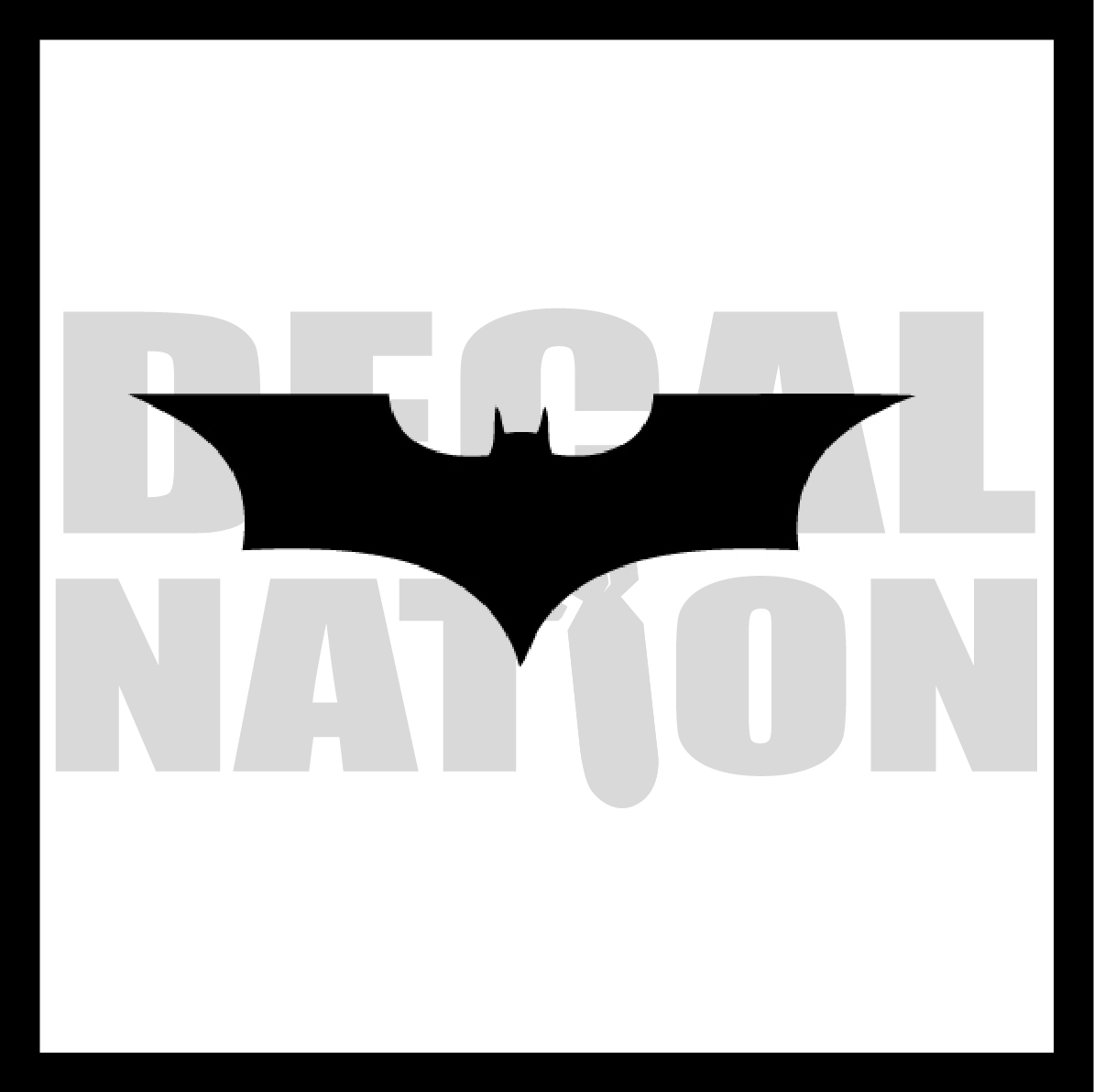Batman Symbol V1 Decal Nation Online Store Powered By Storenvy