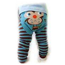 Owl Legging Pants for Boy and Girls baby 3 mos to toddler kids 4T