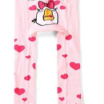 Angry Bird Pink with Hearts Legging Pants