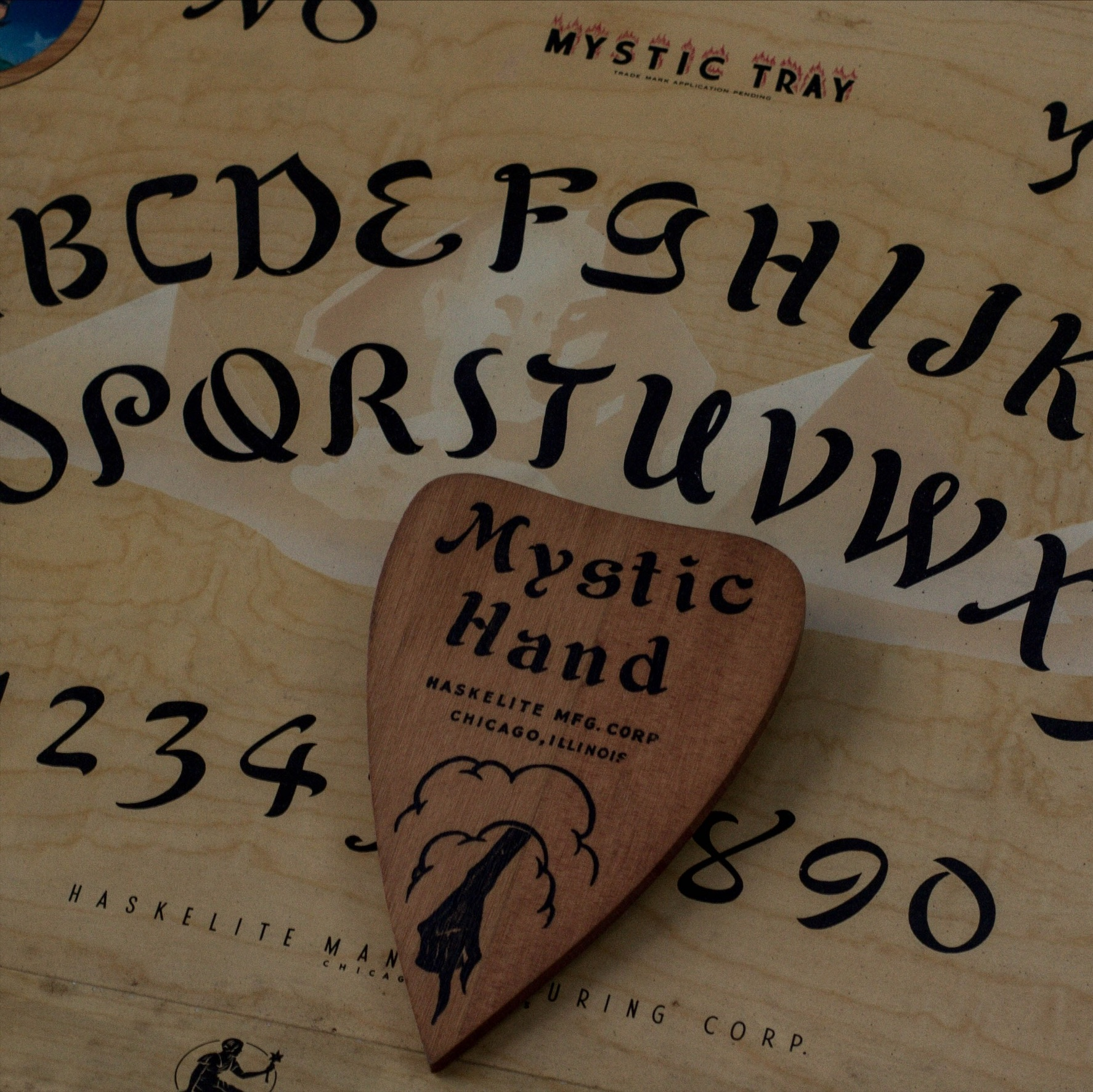 VINTAGE OUIJA BOARD from