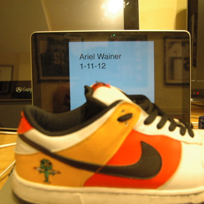 "Nike sb ray gun ""away guns"" size 12"