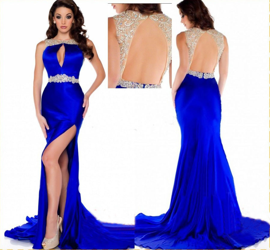Long Prom Dress Royal Blue Prom Dress Mermaid Prom Dress Cheap