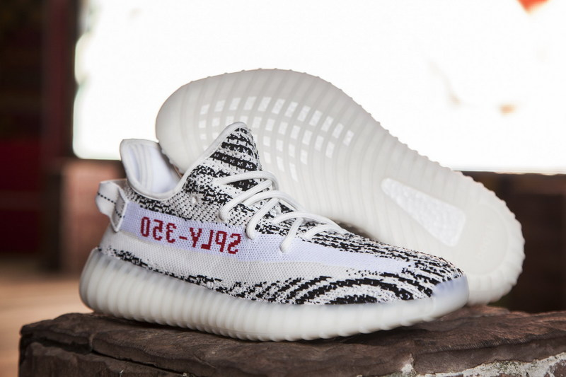8f0467955ed0 Fashion Adidas Yeezy Boost 350 V2 zebra sports shoes - Thumbnail 1 ...