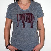 ELEPHANT American Apparel Tri-Blend Shirt