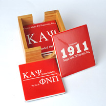 Kappa Alpha Psi Ceramic Coaster Set