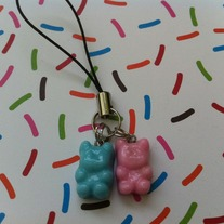 Mini Gummi Bears Cell Phone Strap