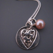 Love and Kisses Necklace