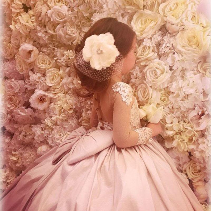 Champagne Ball Gown Flower Girl Dress Birthday Dress for Kid ...