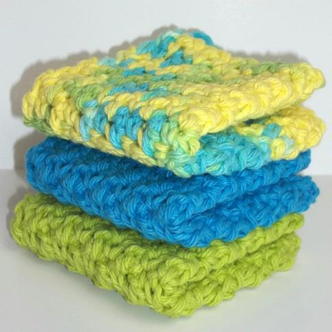 Summer Splash Dishcloth Set