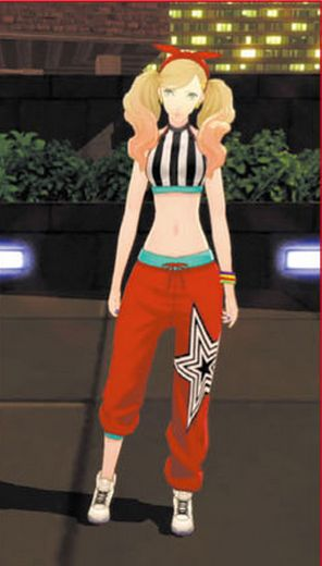 Persona 5 Quot Dancing All Night Quot Diy Ann Crop Top On Storenvy
