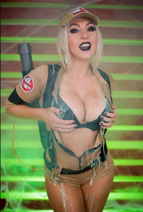 Ghostbuster (11x17 Signed Print) · Jessica Nigri · Online ...