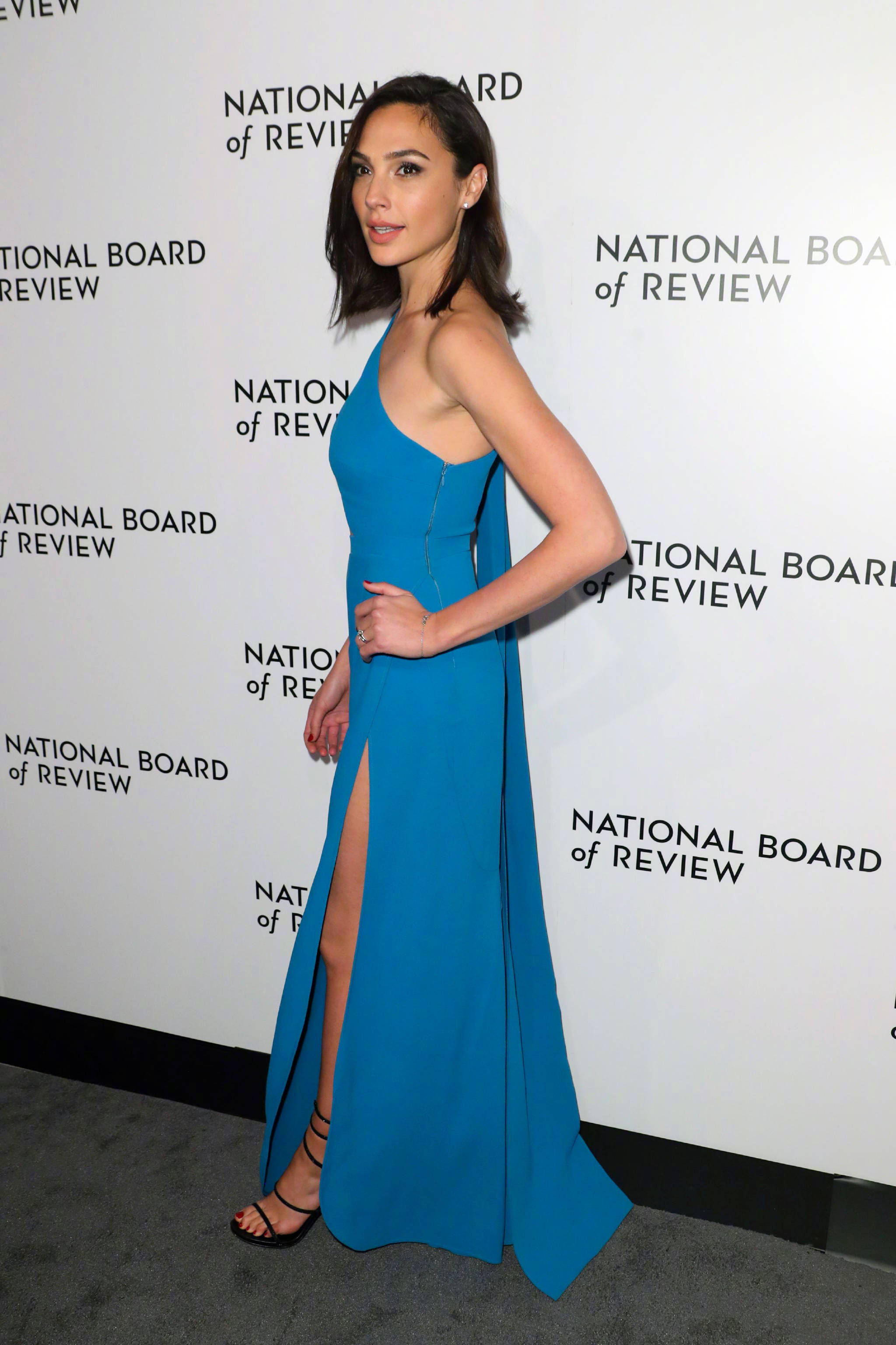 LoliPromDress Gal Gadot One Shoulder Long Evening Dress Prom Dress ...