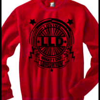 LLD ShiningStar Crew Neck Red
