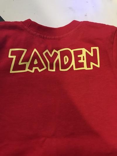 Paw Patrol Inspired Toddler Birthday Shirt Boy