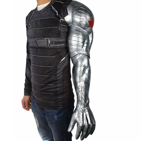 Winter Soldier Bucky Barnes Armor Arm From Captain America