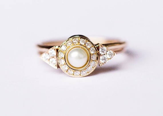 jewellery rings engagement itop ring diamond pearl and zales