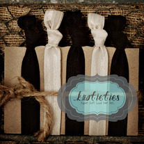 black&tan : original {knotieties} 10 pack