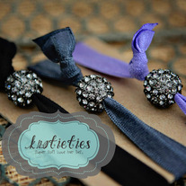 crystal ball {knotieties} smoke/gunmetal
