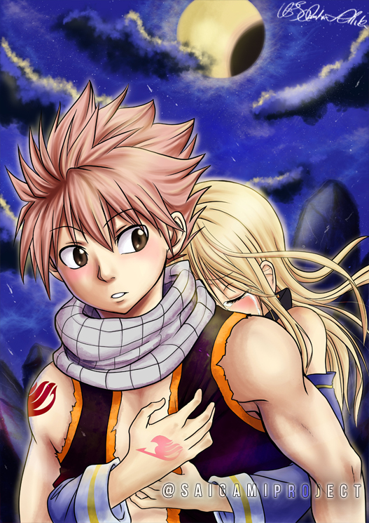 Fairy tail natsu x lucy print saigamiproject online store powered by storenvy - Fairy tail lucy et natsu ...