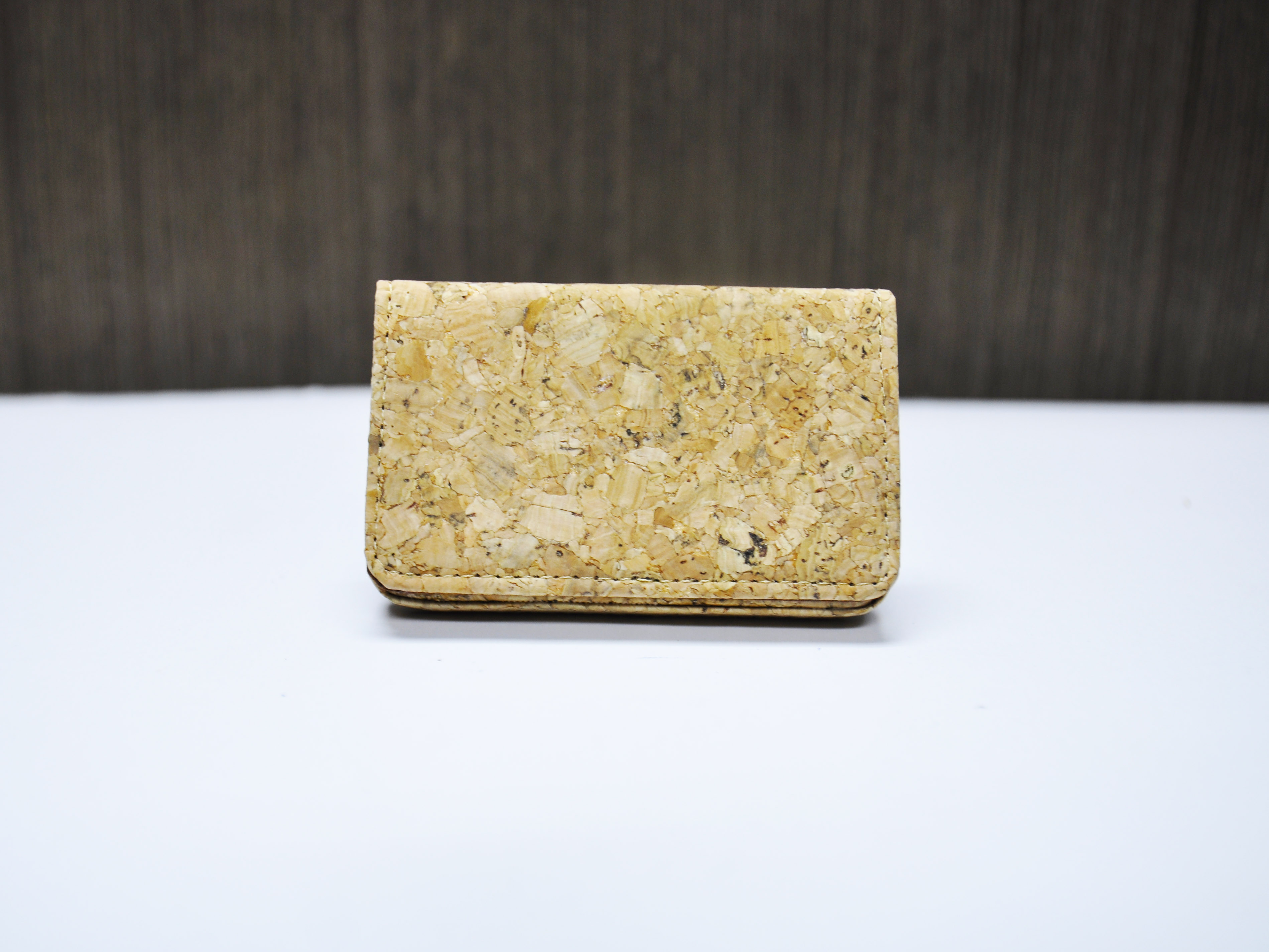 Cork Card Case Holder Business Card Holder Bifold Card Wallet Card ...