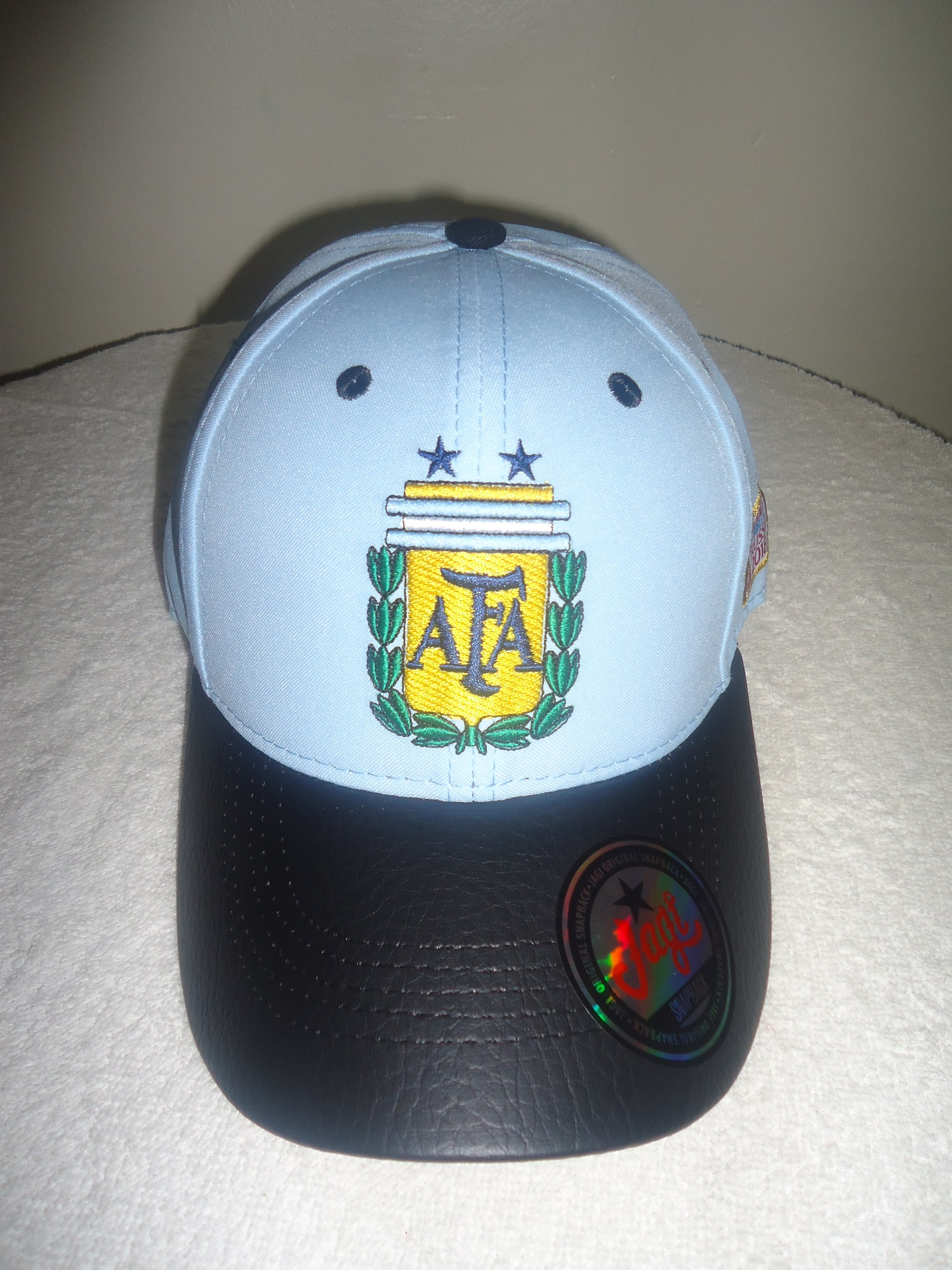 Argentina FIFA World Cup Russia 2018 soccer Hat Cap · SportsMegas ... 882bc4e0556