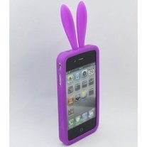 Purple Bunny Caze (No Tail) iPhone 4/4S