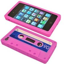 Pink Cassette Caze (iPhone 4/4s)