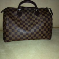 Louis Vuitton Speedy DAMIER CANVAS HANDBAG